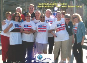 carol ann small certified laughter leader group san francisco