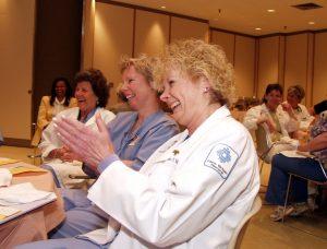 New Britain Hospital nurse audience