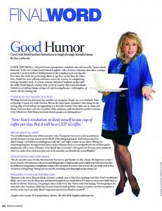 carol ann small Boston common magazine