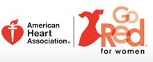 Go red for women / american heart association logo